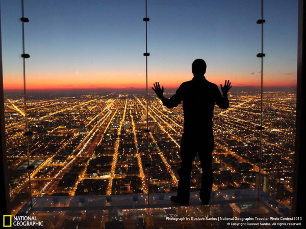 Skydeck, Willis Tower, Chicago, Illinois