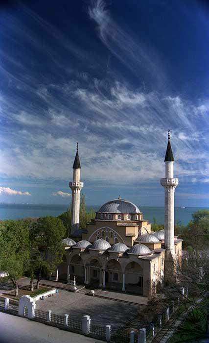 Мечеть-Джума-Джами-(Евпатория).-Автор---Евгений-и-Ольга-Махонько