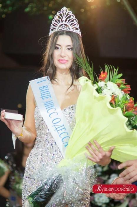 1-я Вице-мисс Одесса стала Ирина Ангелюк
