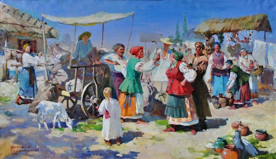 У Воронцовському палаці відкрилася виставка випускних робіт  На виставці представлені дипломні роботи бакалаврів і спеціалістів кафедри Образотворчого мистецтва Кожна картина є результатом спільної роботи керівника і