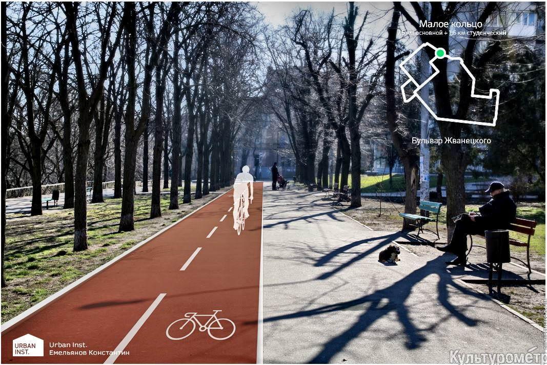 Велодорожки в Одессе