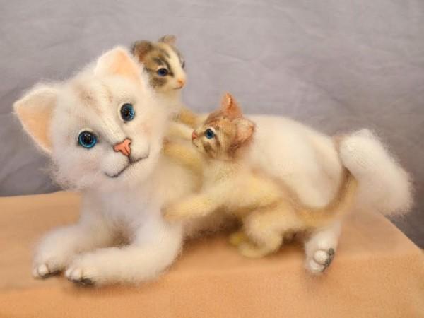кошки вязаные Одесса
