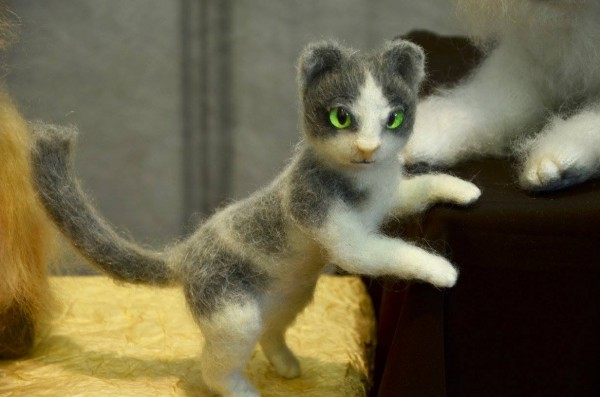 кошка из пуха козлят Одесса