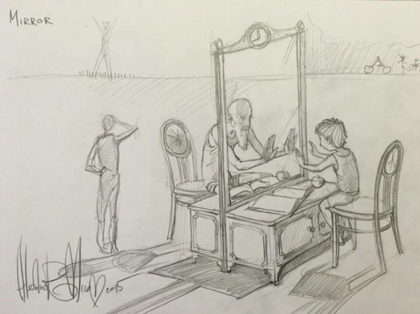 Одессит хочет создать масштабную инсталляцию с зеркалом (ФОТО) (фото) - фото 1