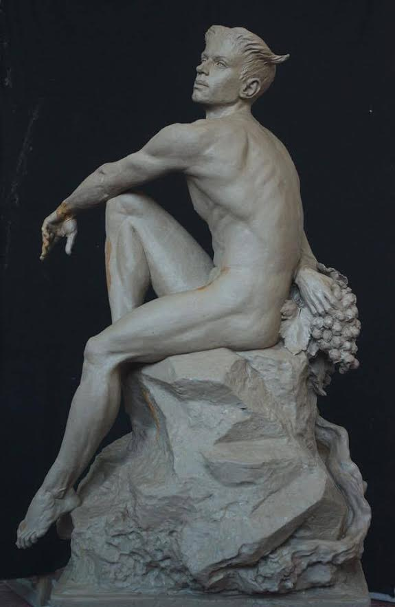 скульптура фавна