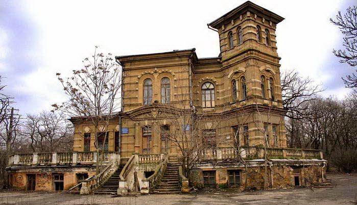 54667 Последние дни дореволюционного особняка на Гагаринском плато в Одессе