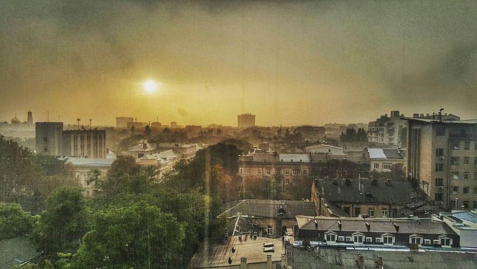Michelle-Armand Потрясающие фото одесской погоды одного дня