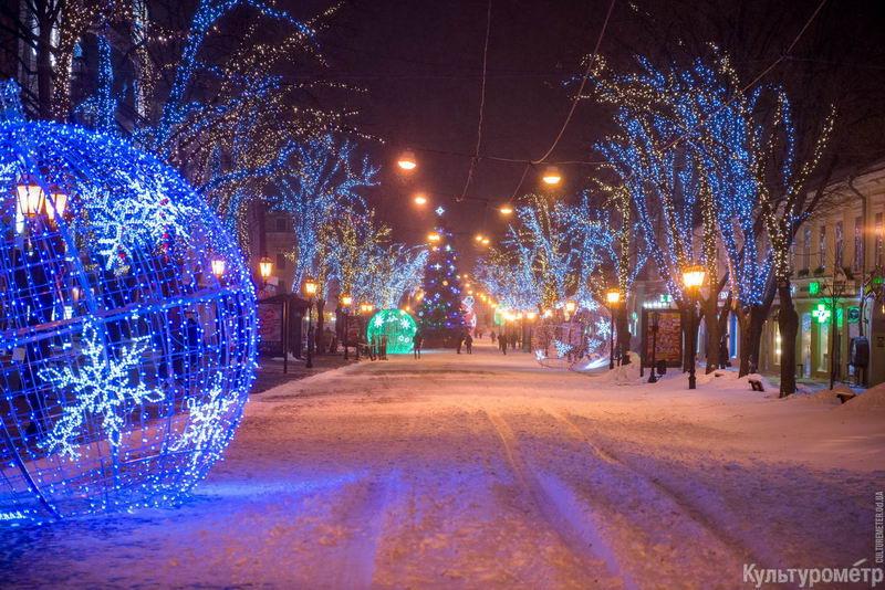 DSC_4132 Снегопад превратил Одессу в сказку