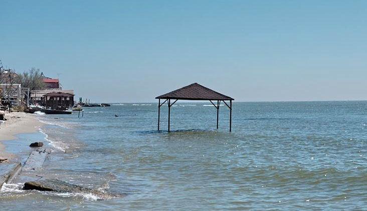 Пляж Голубая бухта Геленджик фото пляжа и поселка 2017