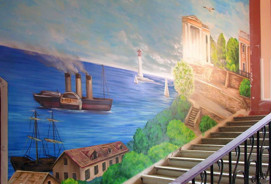 картина, вид Одессы, достопримечатльности Одессы, неизвестные достопримечательности Одессы