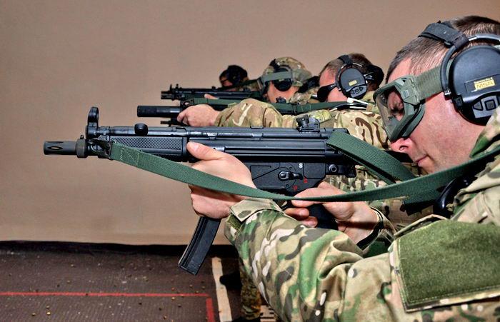 Немецкий пистолет-пулемет МР5